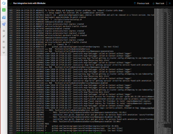 Kubernetes Integration Testing: MiniKube + Azure Pipelines
